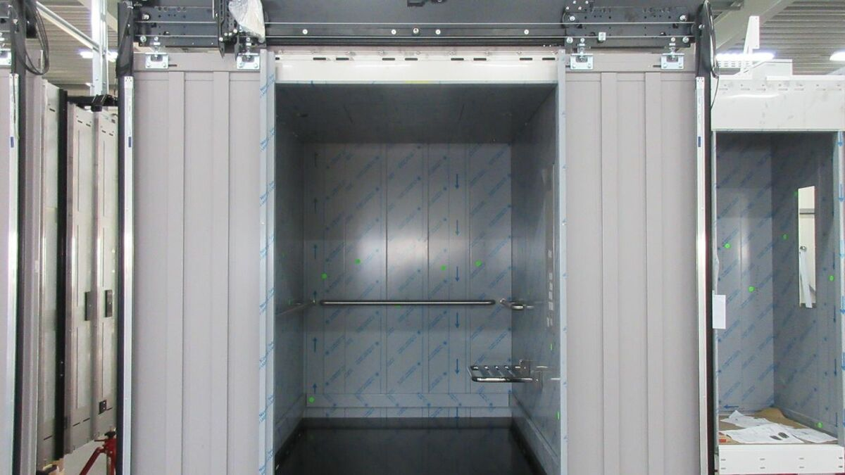 A Lift Emotion cabin in production
