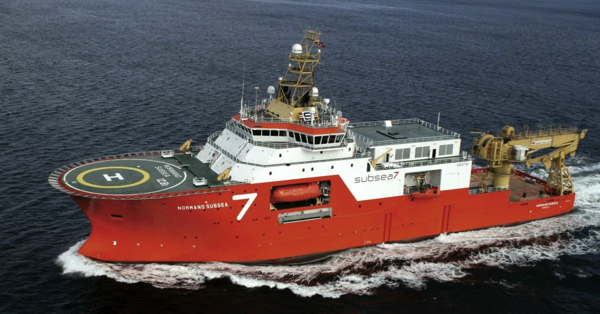 Normand Subsea can deploy ROVs via a moonpool or over the port side
