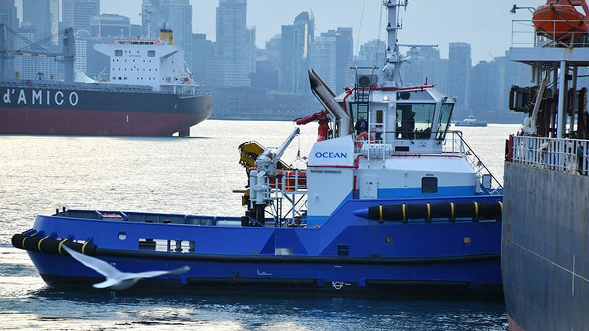 Ocean Group has started tug operations in Vancouver, Canada
