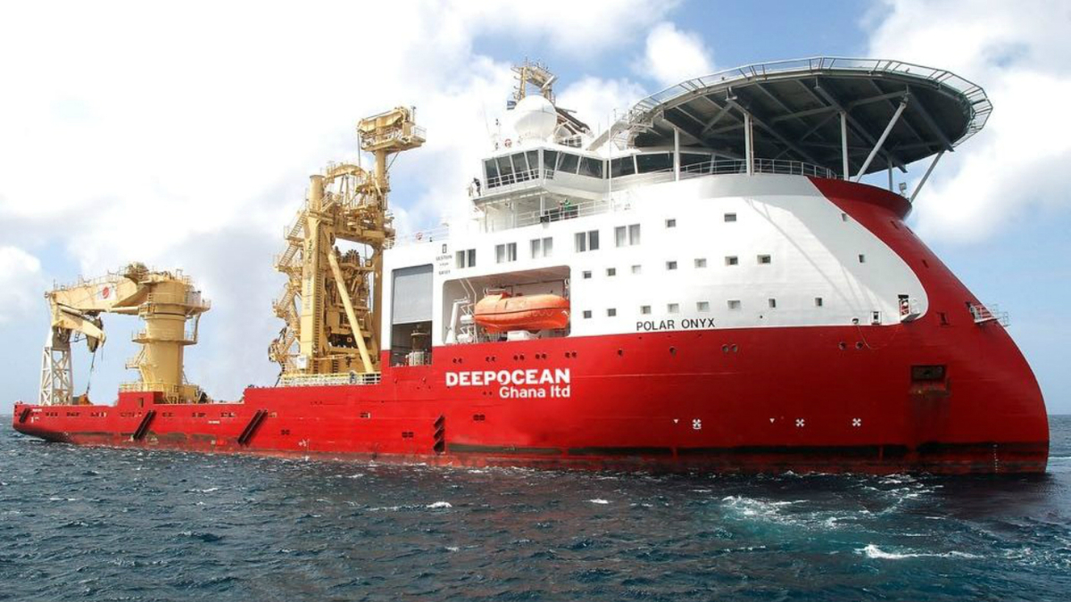 DeepOcean operates 14 specialised vessels, supporting subsea work around the world