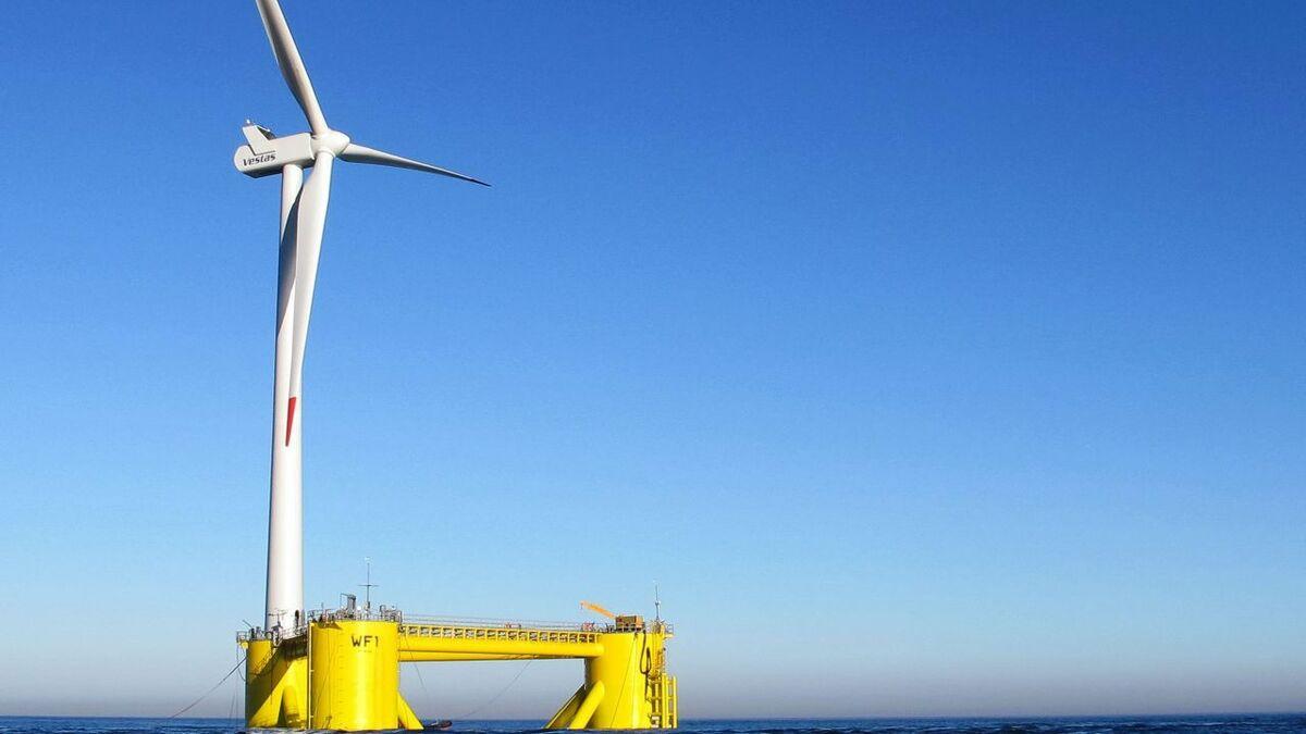 The Erebus project in the Celtic Sea will use Principle Power's WindFloat