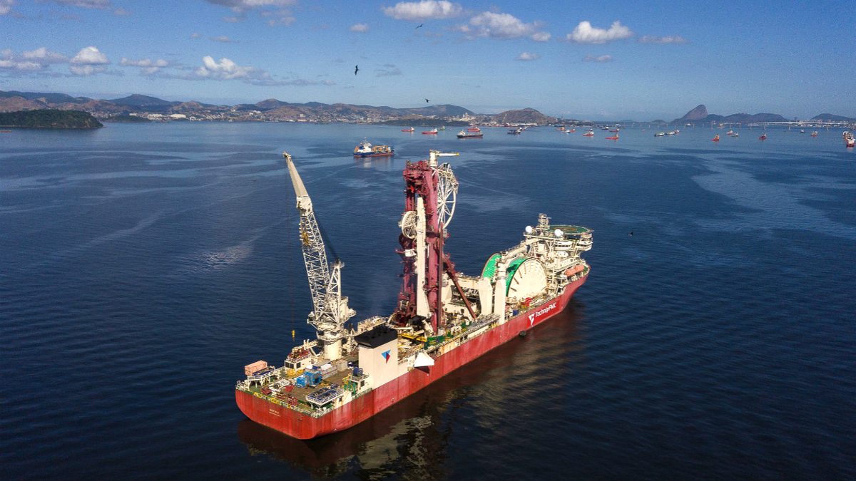 TechnipFMC's Deep Blue is the world's largest ultra-deepwater pipelay and subsea construction vessel