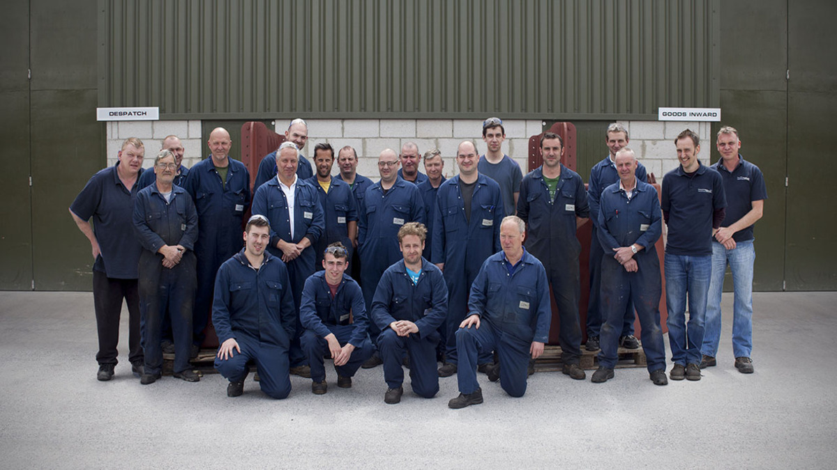 The Teignbridge Propellors Machining Team