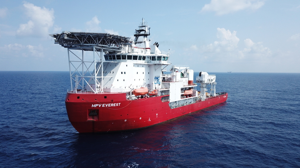 MPV Everest will operate in the Antarctic