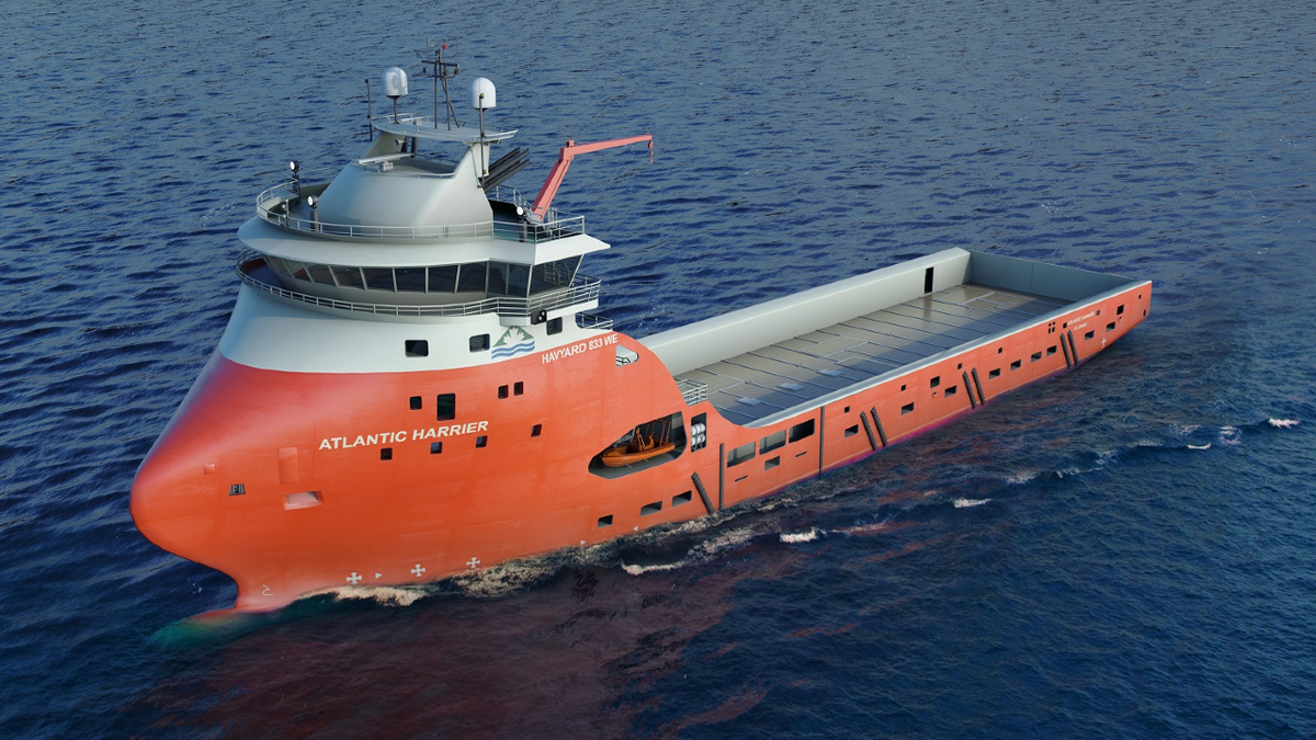 Another twist in delivery of Canadian platform supply vessel
