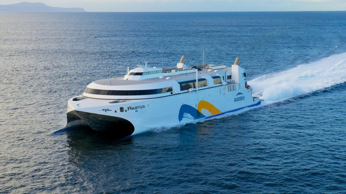 Incat reveals design and technology behind Buquebus' second LNG ferry
