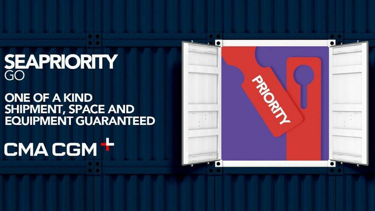 CMA CGM's Seapriority Go offers priority cargo loading