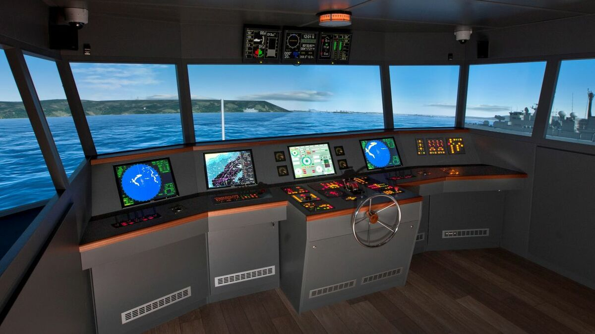 The Cyber-SHIP Lab will sit alongside an existing ship simulator