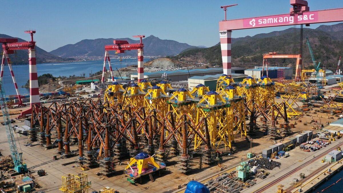 Changhua foundation fabrication making good progress