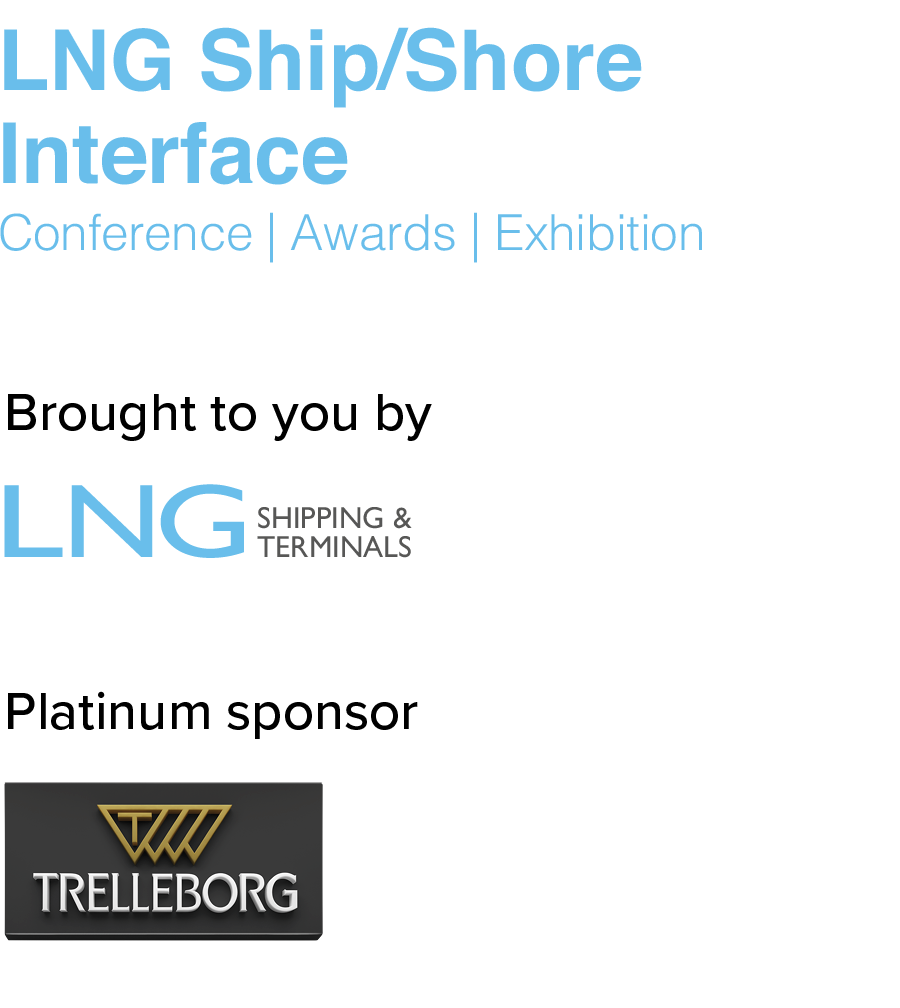 LNG Ship/Shore Interface Conference 2019