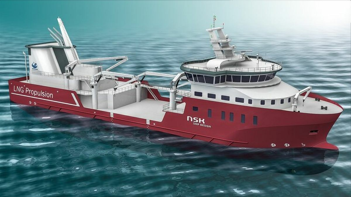 Nordlak's LNG-fuelled wellboat will be fitted with three Hydroniq Pleat-type seawater cooling units