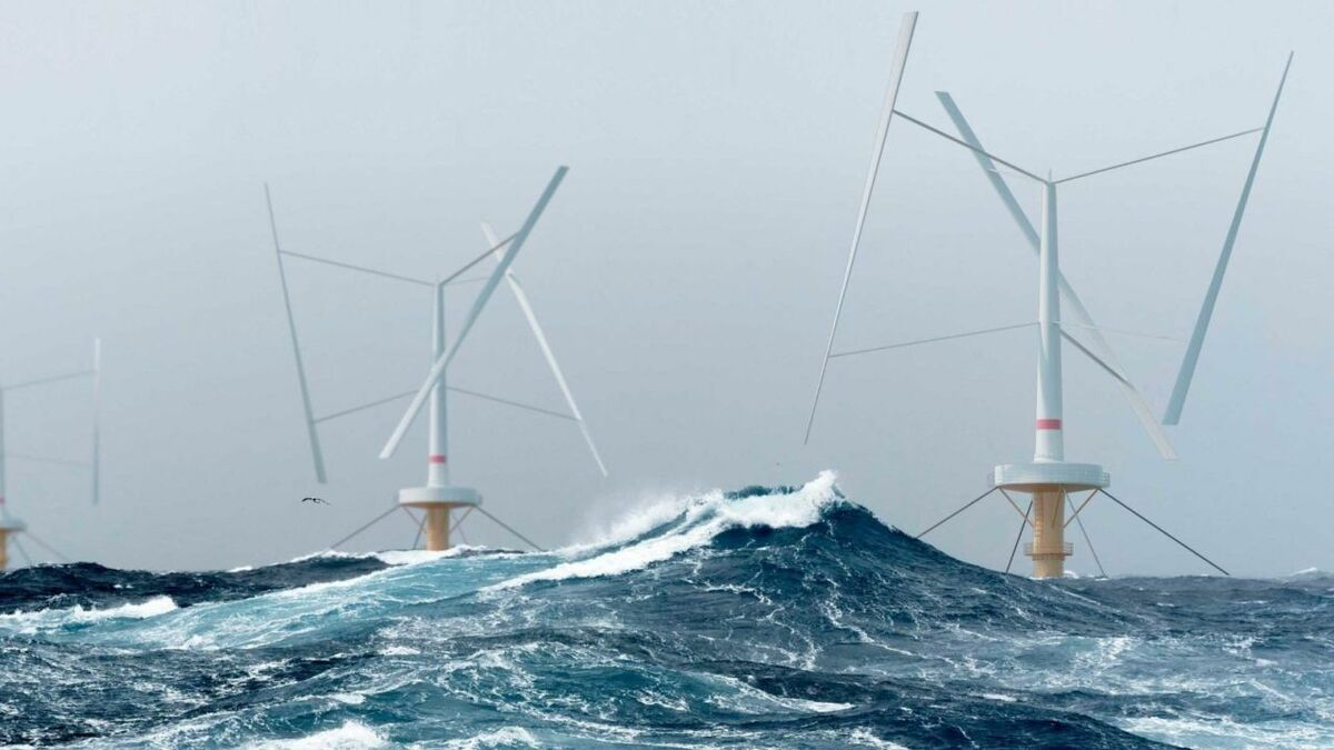 SeaTwirl uses an innovative vertical axis floating turbine