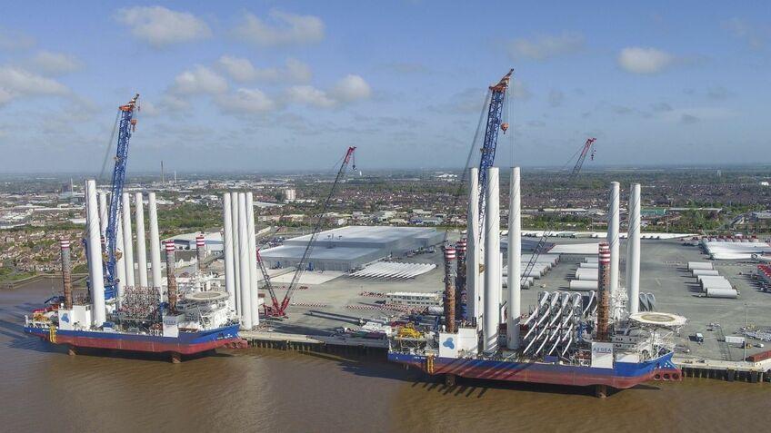 Siemens Gamesa's blade factory at Hull