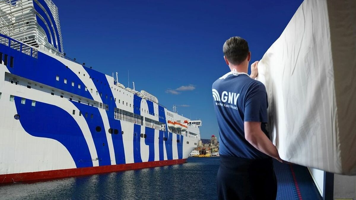 MSC's GNV converts ferry into floating hospital for coronavirus relief