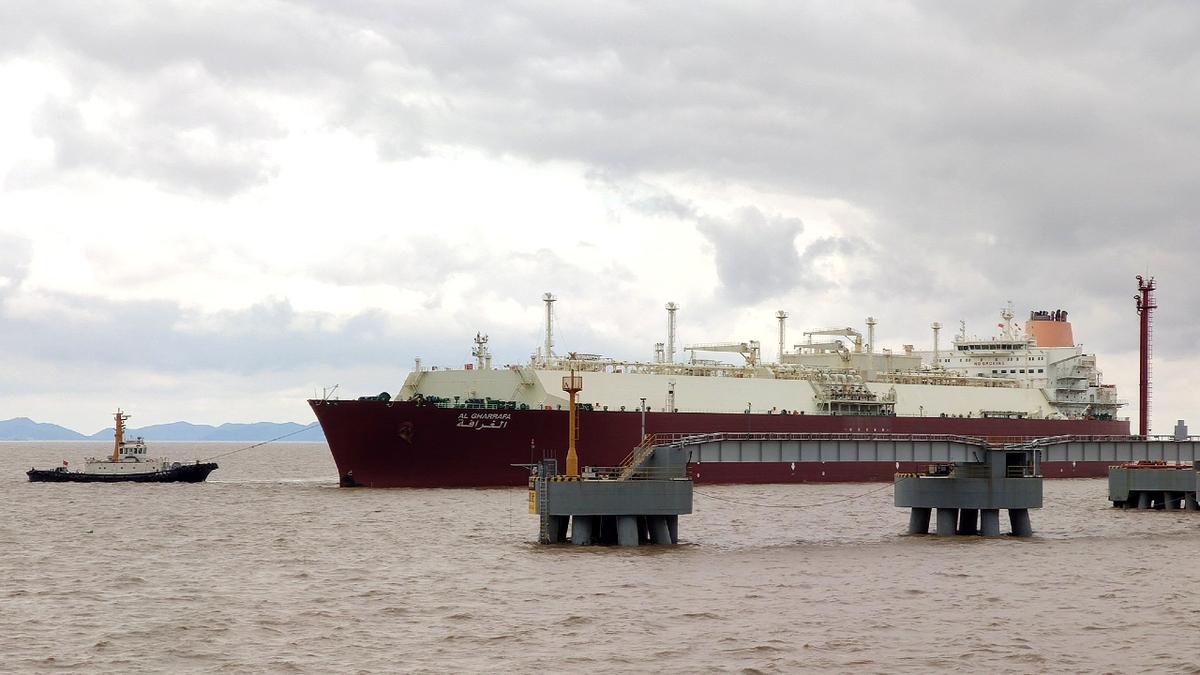 Q-Flex LNG carrier Al Gharrafa has enough capacity to fill more than one of the tanks at the ENN Zhoushan LNG receiving terminal
