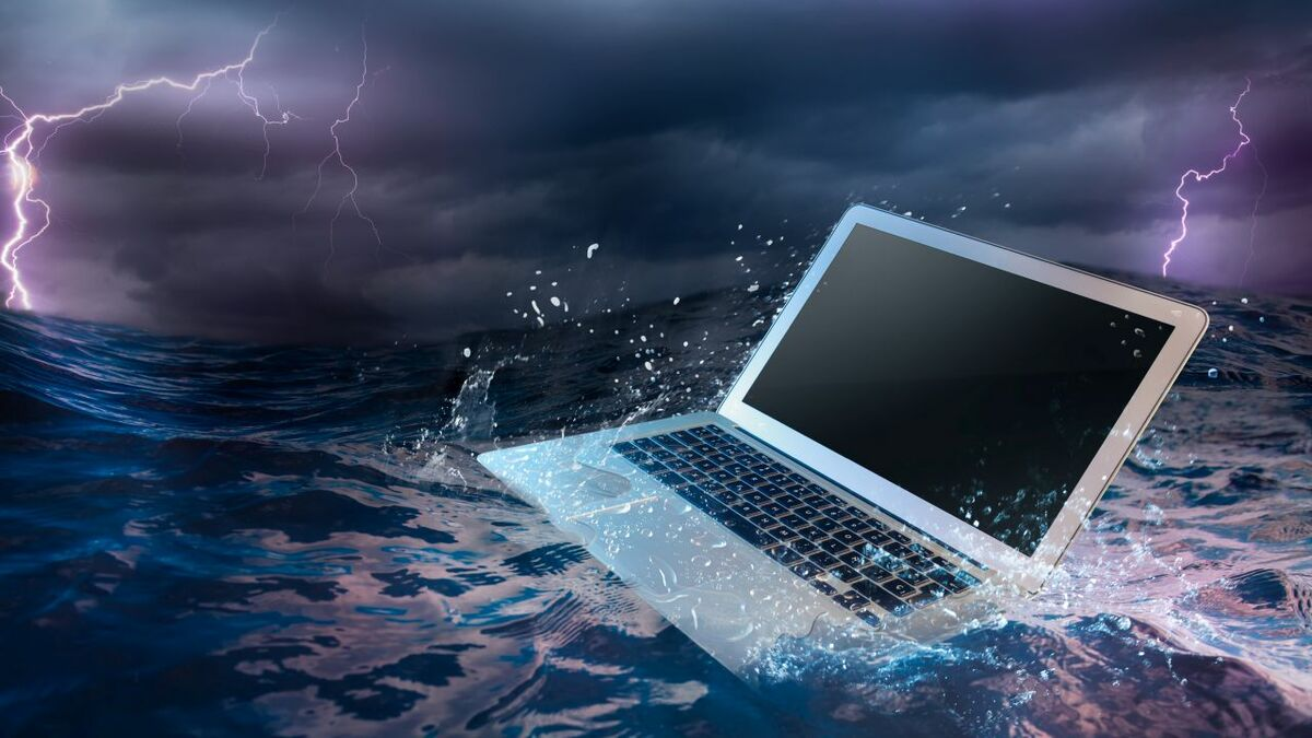 How safe is your shipboard IT in the sea of cyber risks? (source: GTMaritime)