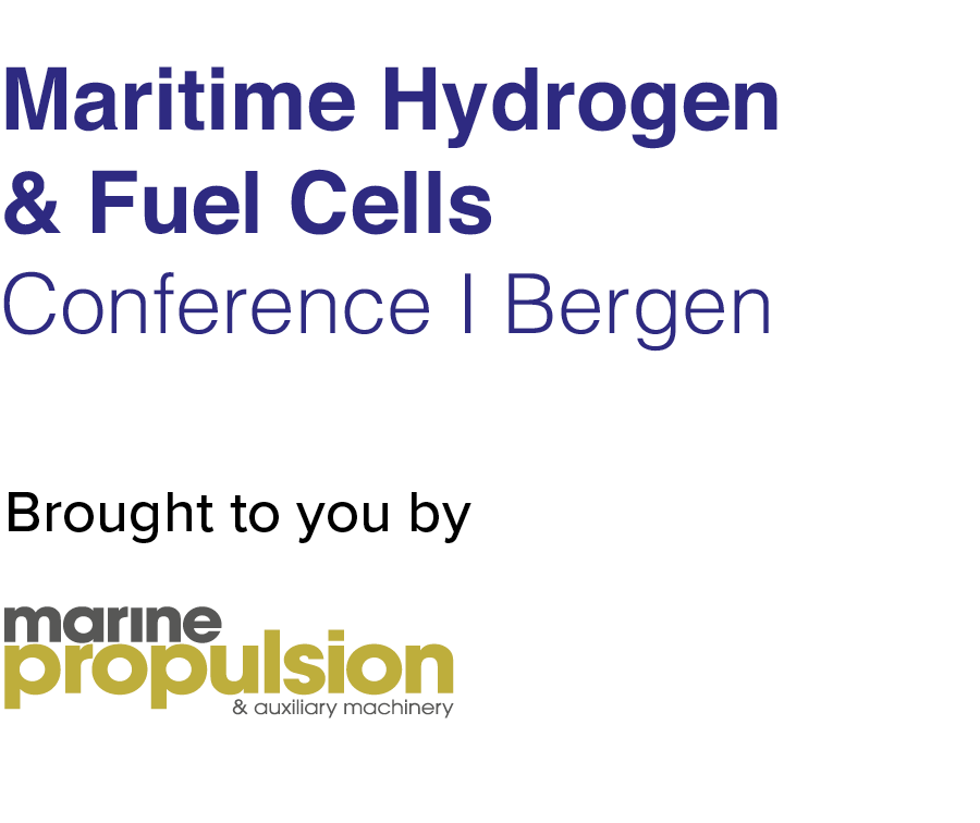 Maritime Hydrogen & Fuel Cells Conference Bergen, 2019