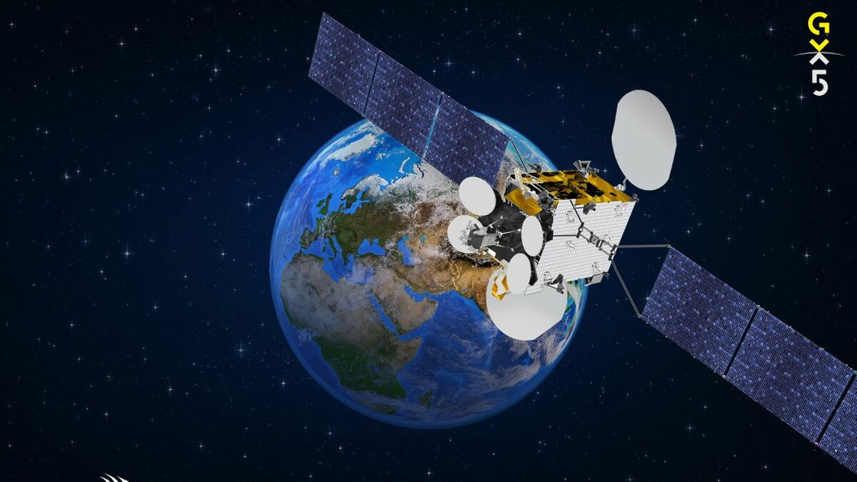 Inmarsat's GX 5 satellite will cover Europe, Africa and the Middle East