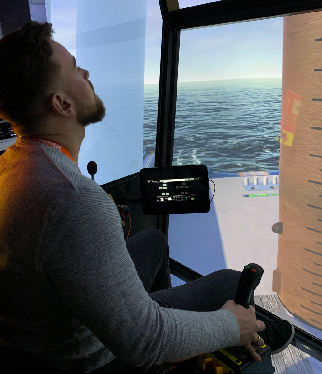 Joint simulator training between Ocean Installer, Equinor and Island Offshore was critical to enhancing safety prior to undertaking the work
