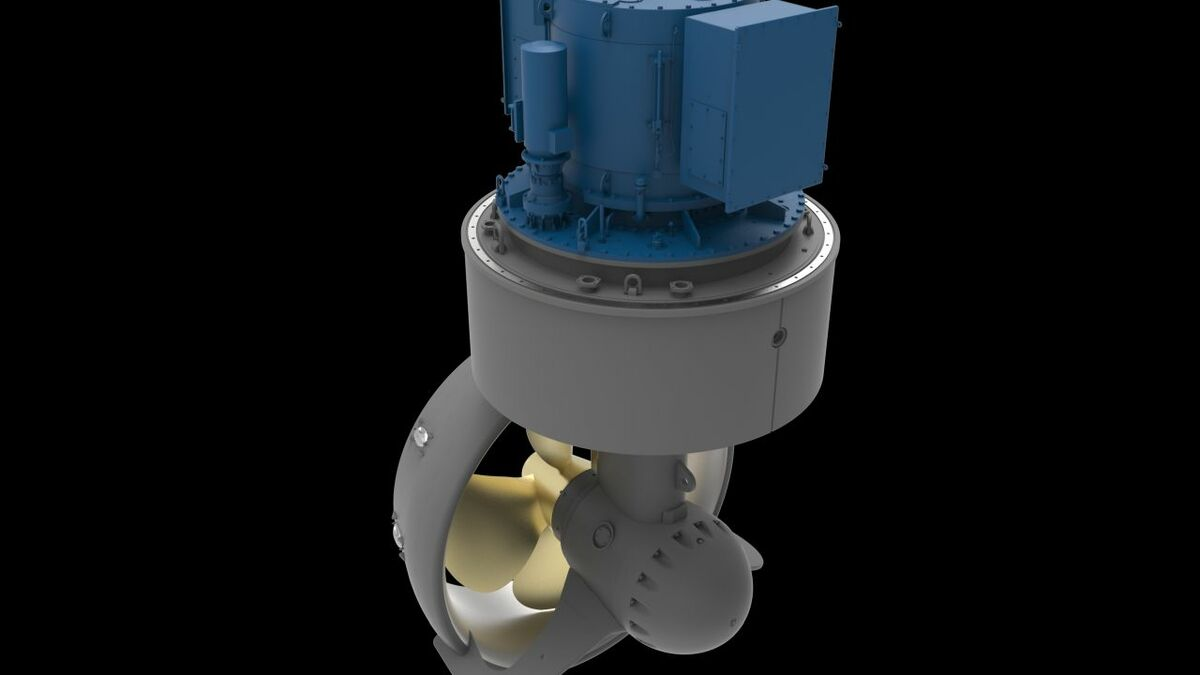 Kongsberg azimuth thrusters ordered for electric tug propulsion
