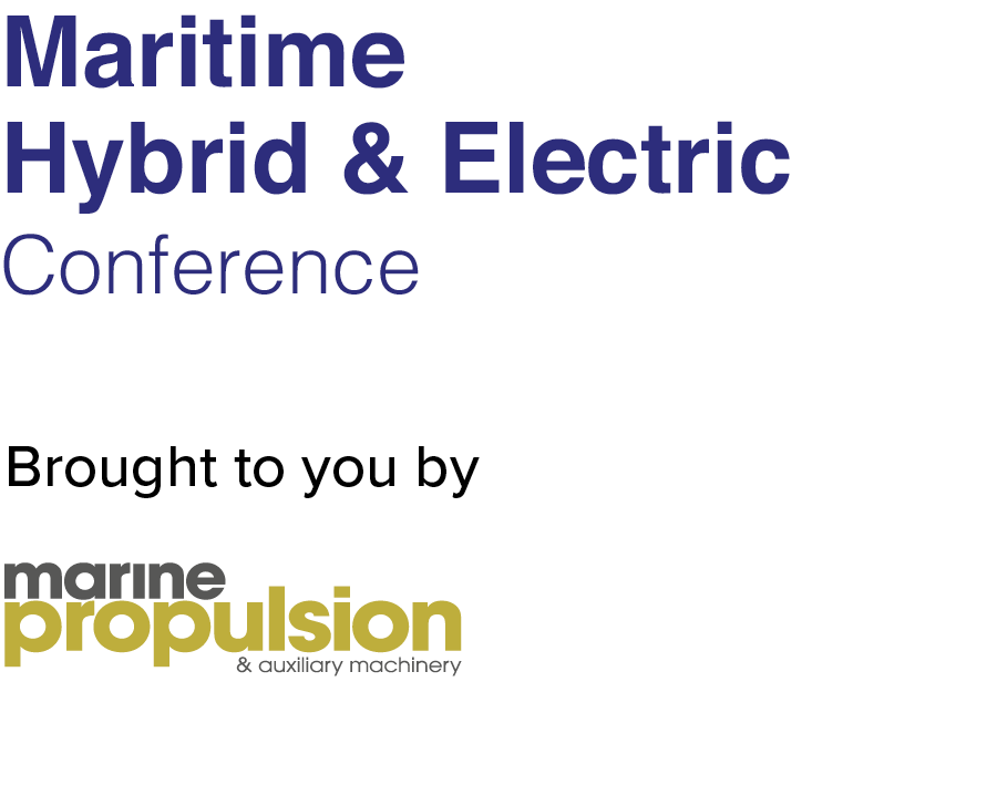 Maritime Hybrid and Electric Conference Bergen 2019