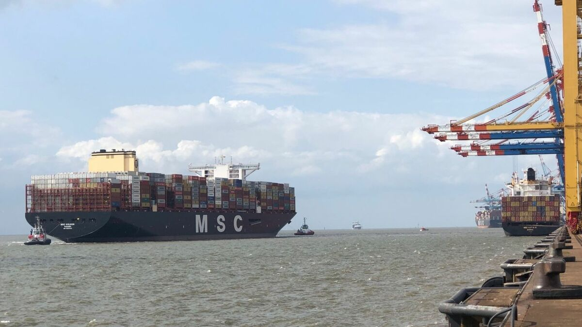 MSC's fleet has swelled to 3.8M TEU as it started delivering its new 23,000+ TEU ships, starting with MSC Gülsün