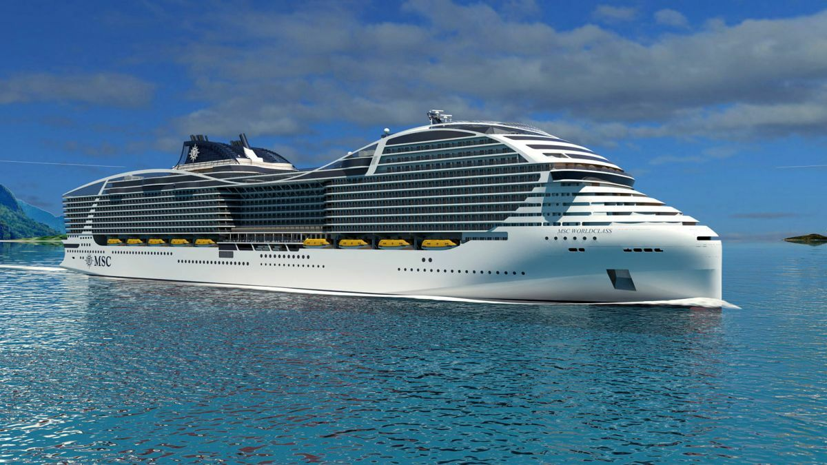 MSC's five LNG-fuelled cruises ships will also have a fuel-cell demonstrator that uses LNG to create power
