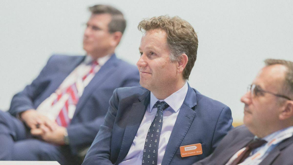 Industry leader: Martin Crawford-Brunt, CEO, RightShip