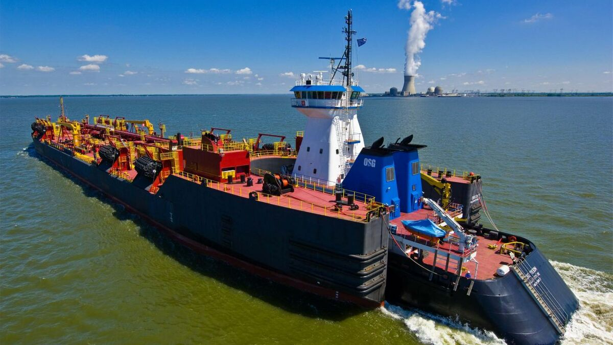 OSG operates ATBs for US oil marine transportation