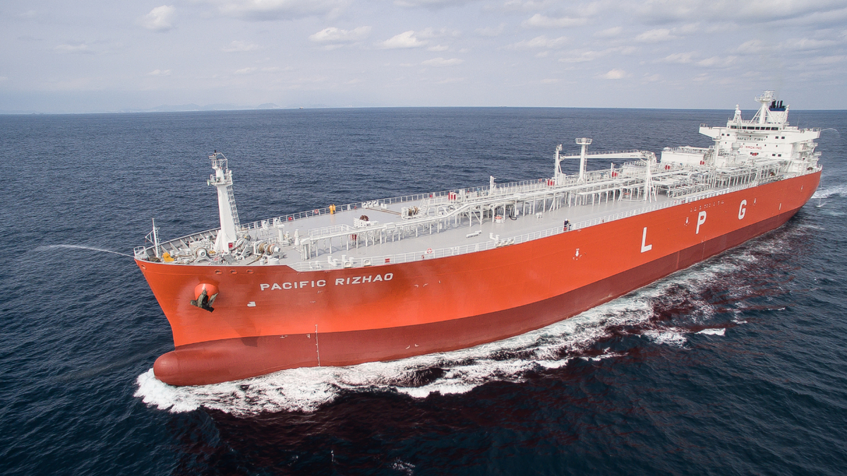 VSAT converts Pacific Gas ethylene carriers into remote offices
