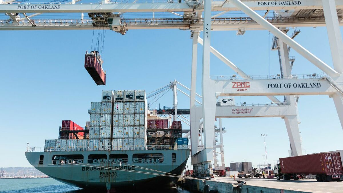 Oakland has seen some trade move from China to southeast Asia (credit: Port of Oakland)