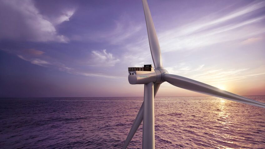 SG 8.0-167 DD Flex turbines have been selected for the Kaskasi project