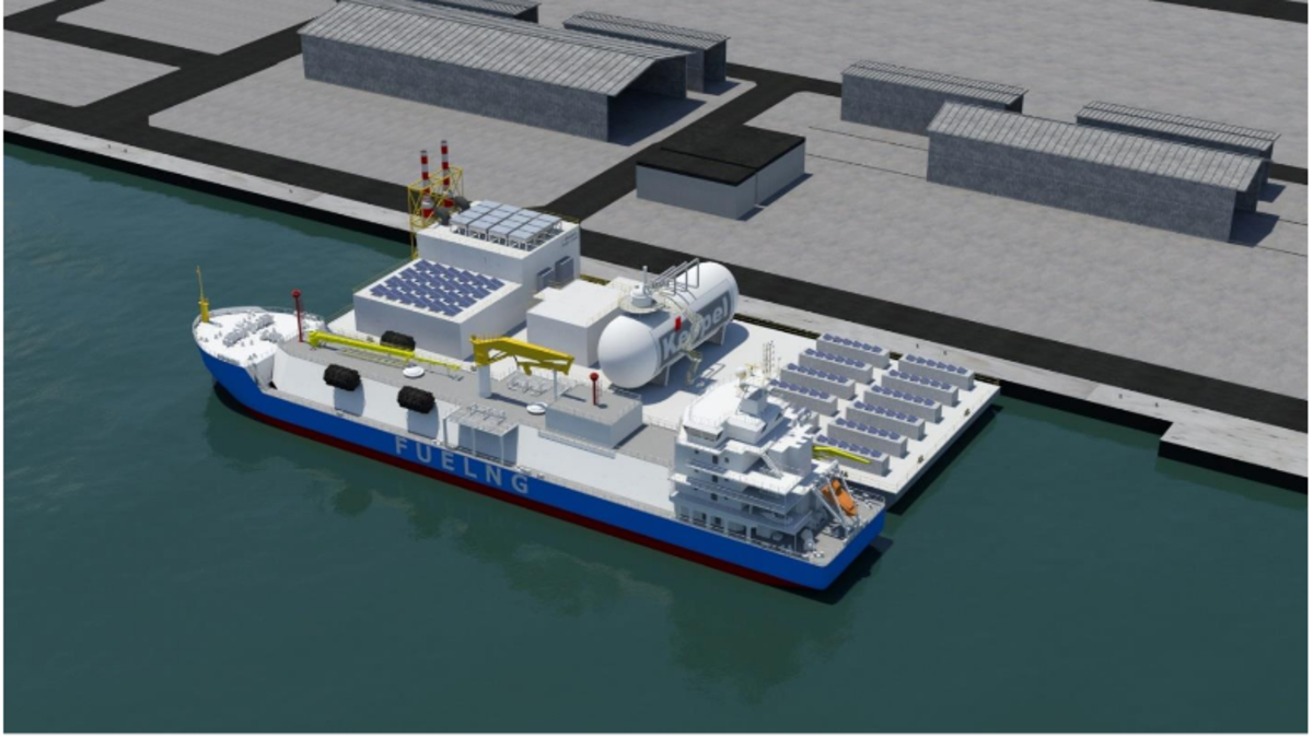Keppel's Floating Living Lab will act as a testbed for innovative technologies (Keppel)