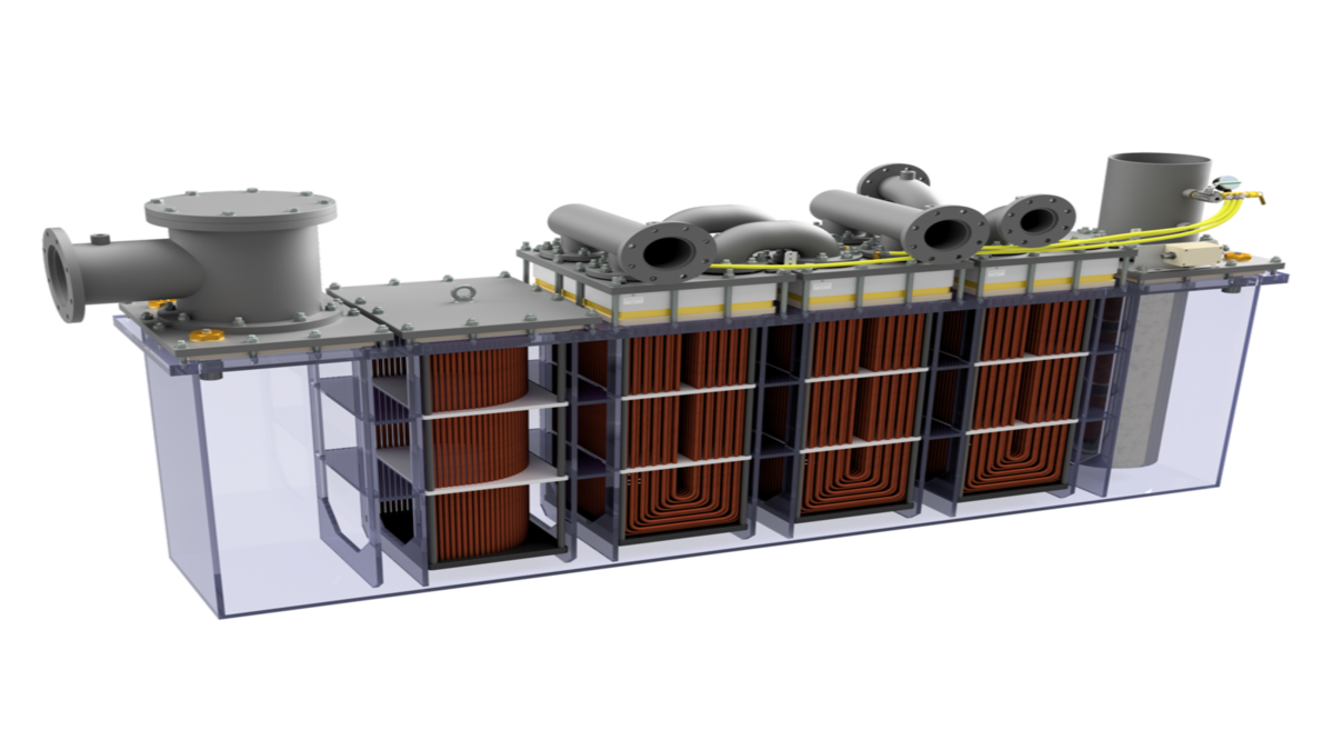 Hydroniq Rack cooler solution (Credit: Hydroniq Coolers)