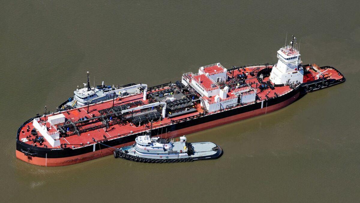 Crowley Fuels deploys ATB Aveogan-Oliver Leavitt in Alaska