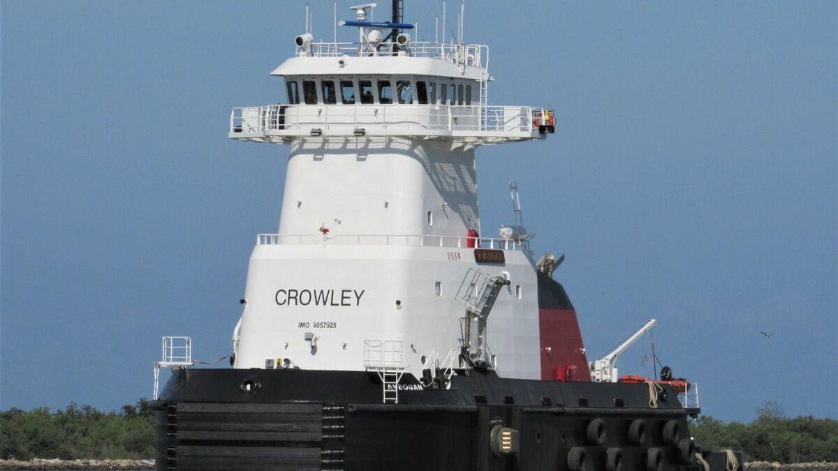 Crowleys ATB tug has EPA Tier 4 propulsion for Alaska fuel transportation