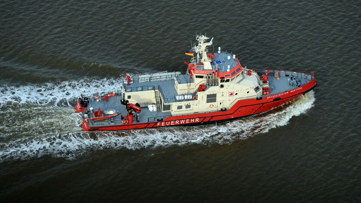 Damen is building two fire-fighting vessels for HPA (source: Schottel)