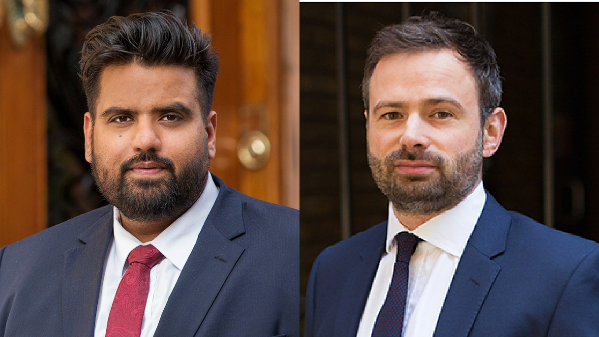 Rahul Kumar (L) and Andreas Dracoulis (Haynes and Boone): There are risks with 'on spec' orders, but the current climate may represent an opportunity
