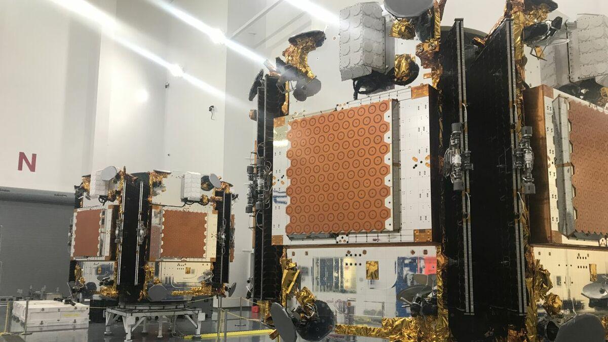 Iridium Certus uses low Earth orbit satellites manufactured and launched in 2018