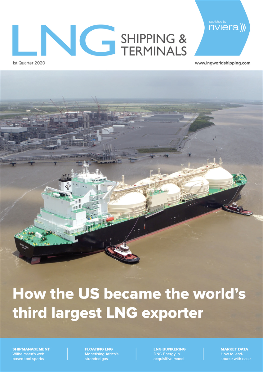 LNG Shipping and Terminals 1st Quarter 2020