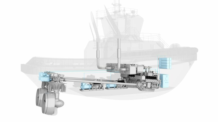 Gas, hybrid and electric coming to tug propulsion