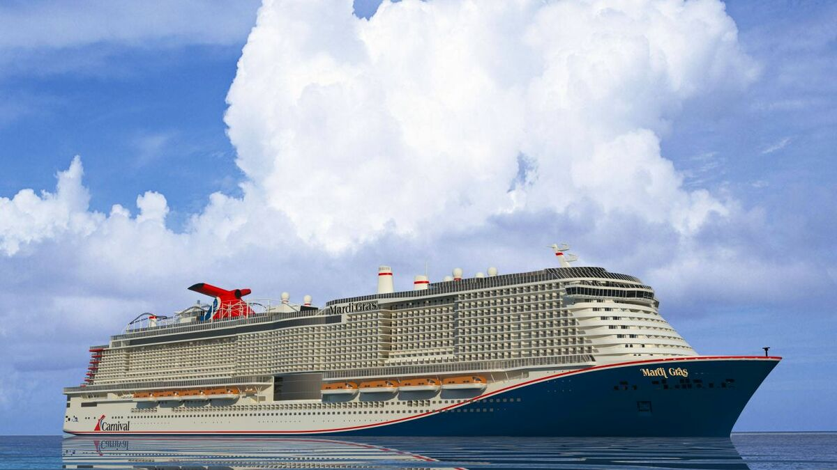 Carnival Celebration will be the sister ship to Mardi Gras (pictured) (Image: Carnival Cruise Line)