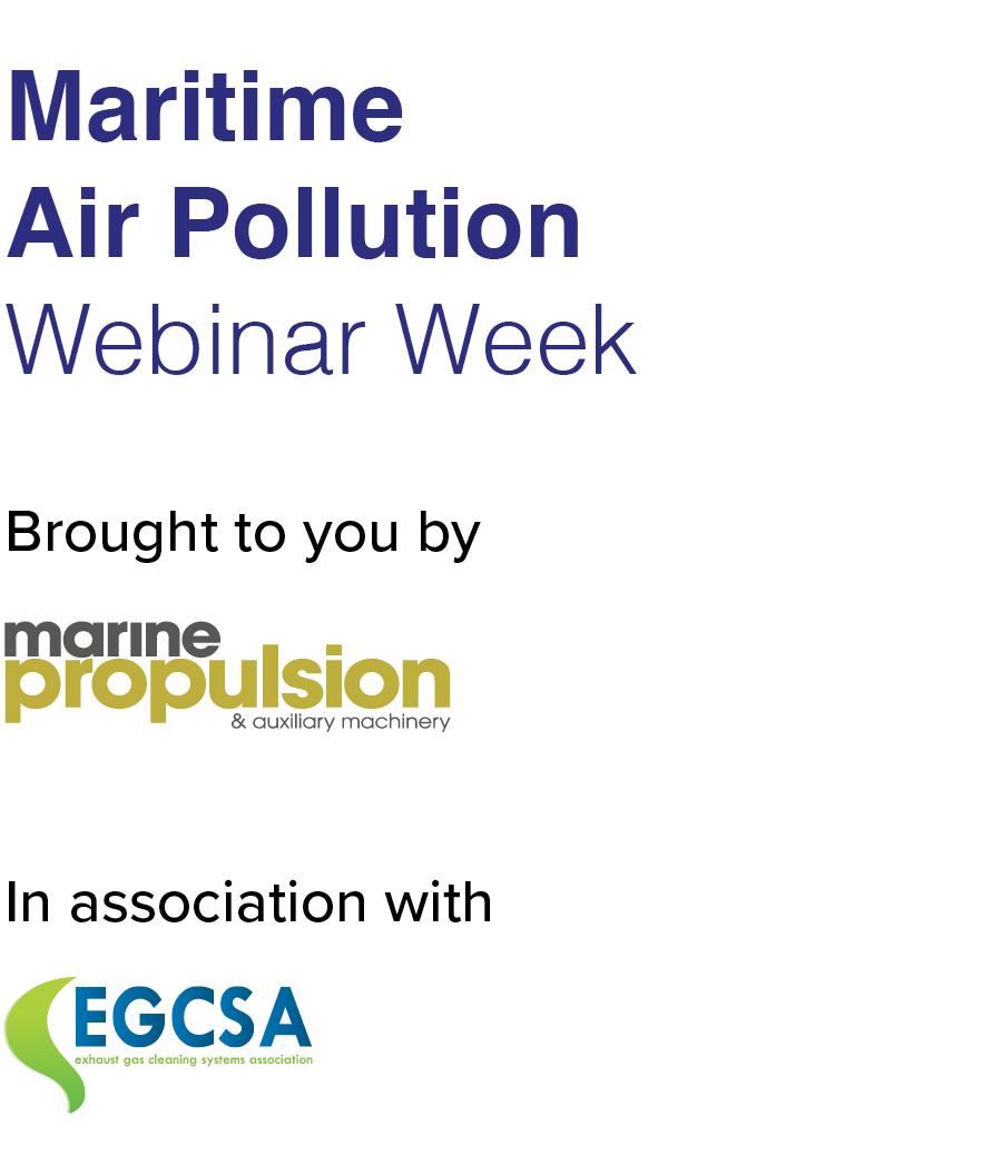 Maritime Air Pollution Webinar Week