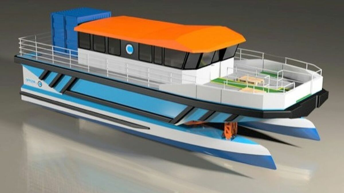Nauti-Craft vessels are multi-hulled units with a hydraulic suspension system