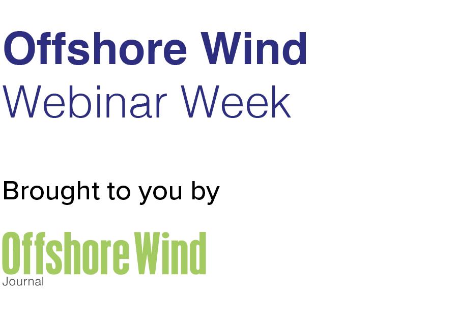 Offshore Wind Webinar Week