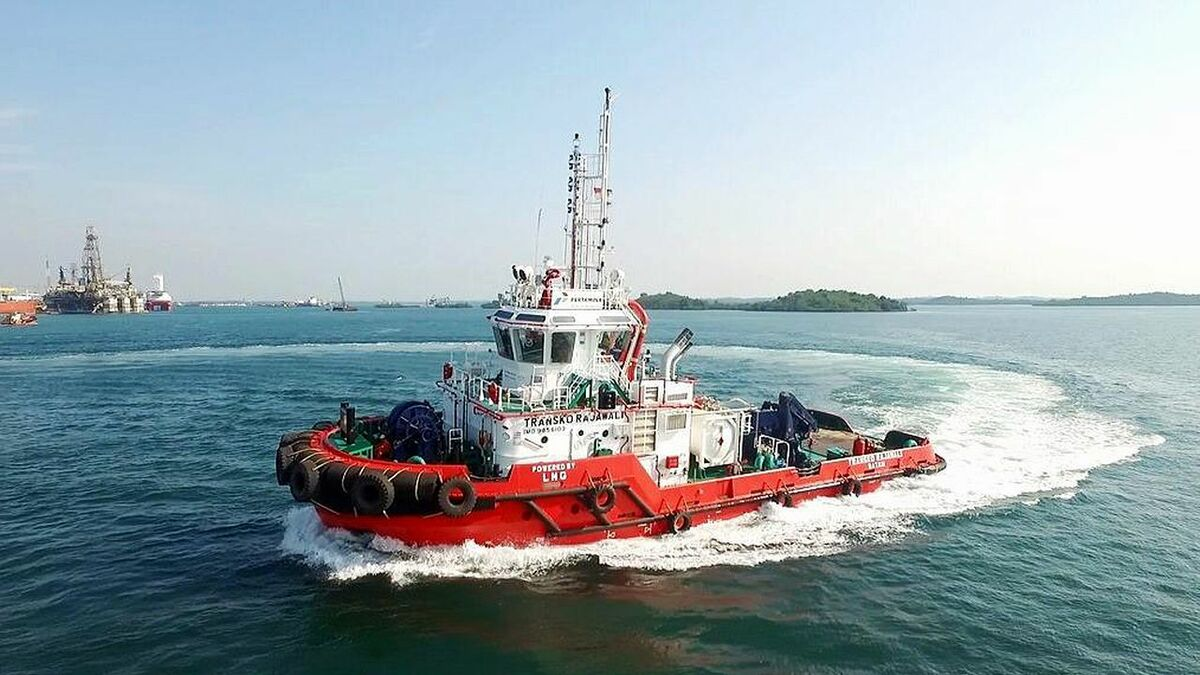 PaxOcean built a dual-fuel tug in Indonesia for PT Pertamina in 2019
