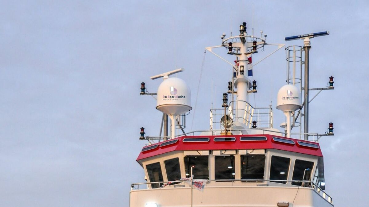 SES Networks and De Boer Marine supply VSAT to an offshore support vessel