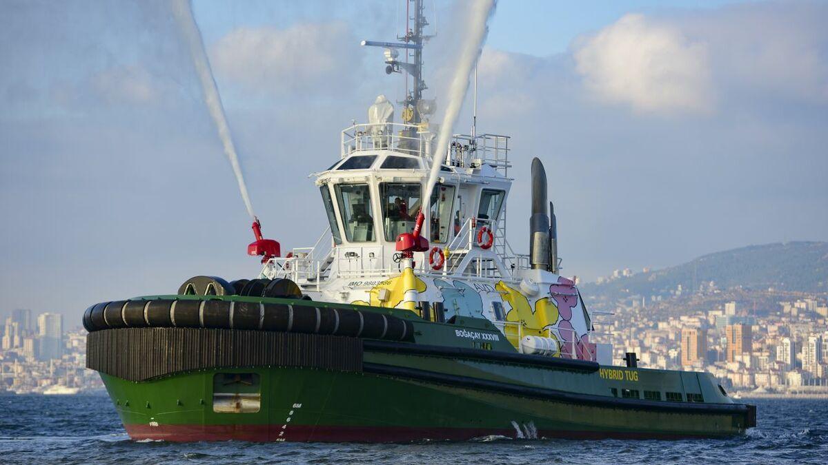 Sanmar's Boğaçay XXXVIII has hydro-mechanical hybrid propulsion system