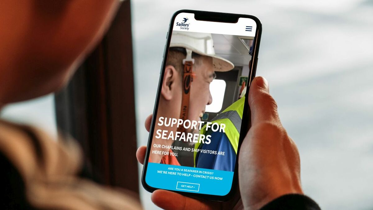 Seafarers can use free voice services to speak with Sailor Society chaplains