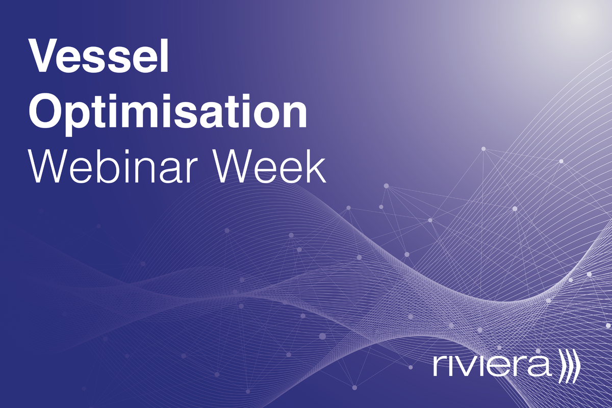 Vessel Optimisation Webinar Week